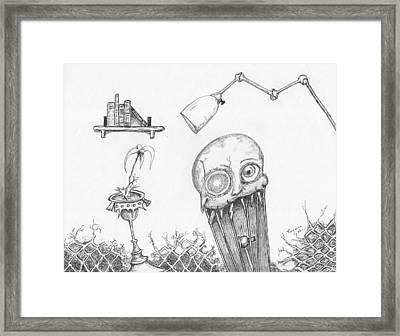 Dollskull Framed Print by Dan Twyman