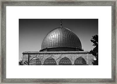 Dome Of The Rock Framed Print by Amr Miqdadi