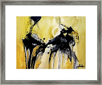 Don Quixote Takes A Wife Framed Print by Jim Whalen