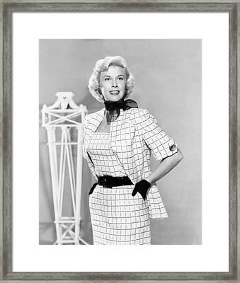 Doris Day, Ca. Early 1950s Framed Print