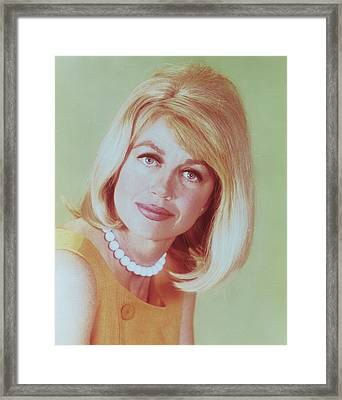 Dorothy Malone Framed Print by Silver Screen