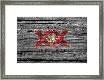Dos Equis Framed Print by Joe Hamilton