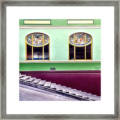 Double Window Framed Print