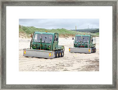 Dounreay Beach Radiation Monitoring Framed Print by Public Health England