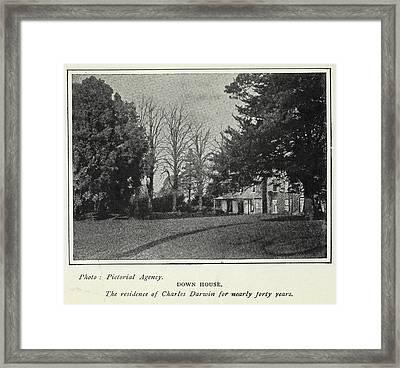 Down House Framed Print