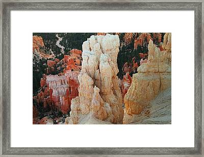 Down Into Bryce Framed Print
