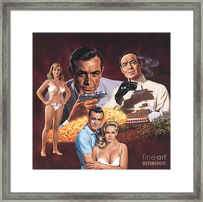 Dr. No   Framed Print by Dick Bobnick