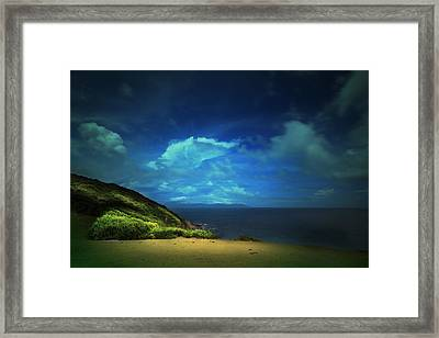 Framed Print featuring the photograph Dream's Island by Afrison Ma
