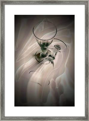 Drink To Me Only Framed Print by Anne Macdonald