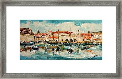 Dubrovnik - Croatia Framed Print