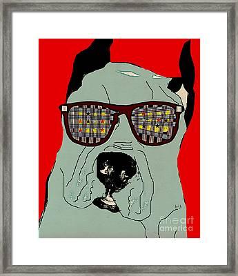 Dude Framed Print by Bri B
