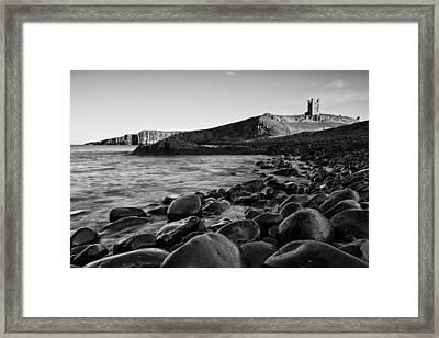Dunstanburgh Castle Framed Print by David Pringle