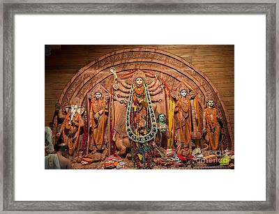 Durga Puja Festival Framed Print by Rudra Narayan  Mitra