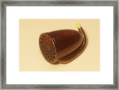 Ear Trumpet Framed Print by Science Photo Library