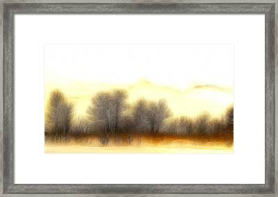 Early In The Morning Framed Print by Steve K