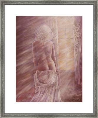 Early Up Framed Print