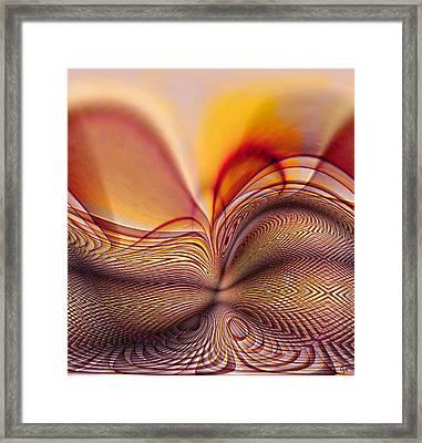 Earth Birth Framed Print