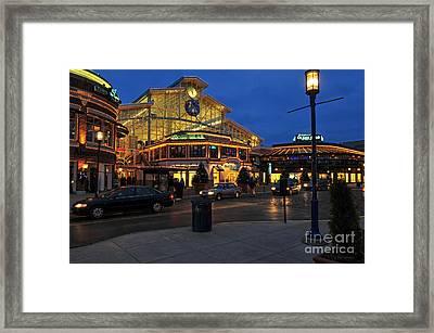 D65l-120 Easton Town Center Photo Framed Print