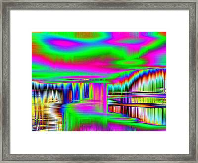 Framed Print featuring the photograph Echo by Nick David