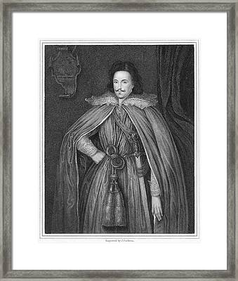 Edward Herbert (1583-1648) Framed Print by Granger