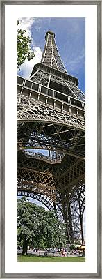 Eiffel Tower Framed Print by Gary Lobdell