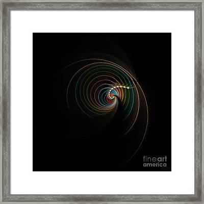 Framed Print featuring the digital art Elegance by Hanza Turgul