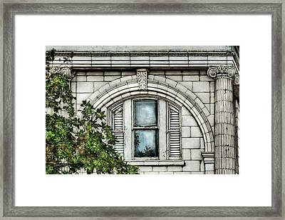 Elegance In The French Quarter Framed Print by Brenda Bryant