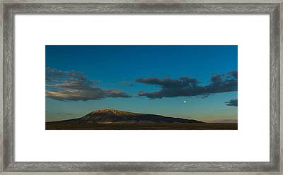 Elk Mountain Framed Print