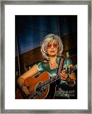 Emmylou Framed Print