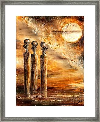 Emotions Framed Print by Marietjie Henning