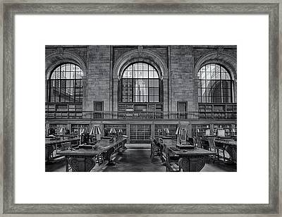 Empire State Bw Framed Print by Susan Candelario