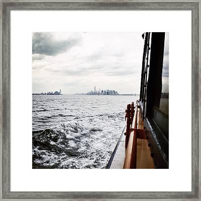 En Route Framed Print