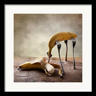 Banana Photographs Framed Prints
