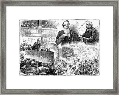 England Election, 1880 Framed Print by Granger