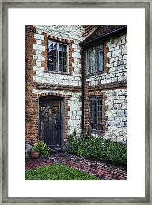 English Cottage Framed Print by Joana Kruse
