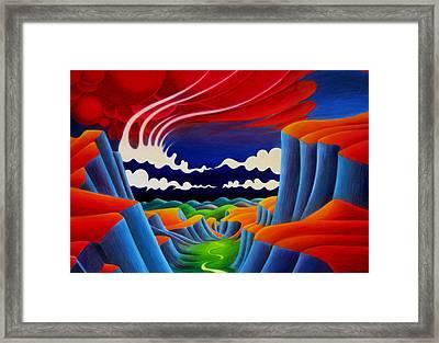 Escalante Framed Print by Richard Dennis