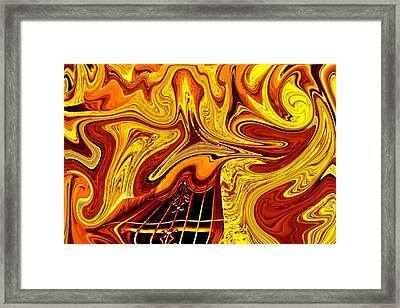Escape Clause Framed Print by Nick David