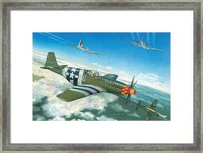Escort Duty Framed Print