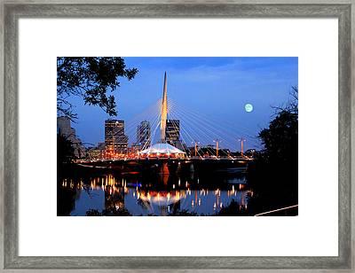Esplanade Riel Framed Print