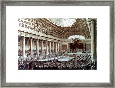 Estates General, 1789 Framed Print