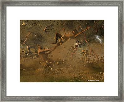 Eternally Rooted -turbulence Framed Print by Williem McWhorter