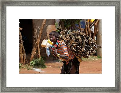 Ethiopia Framed Print by Photostock-israel