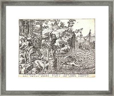Etienne Delaune French, Ca. 1519-1583 After Giovanni Framed Print