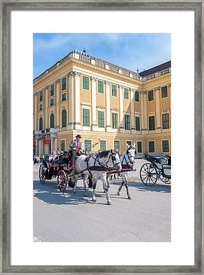 Europe, Austria, Vienna, Schonbrunn Framed Print by Jim Engelbrecht