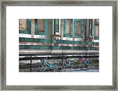 Europe Italy Florence Basilica Di Santa Framed Print by Terry Eggers