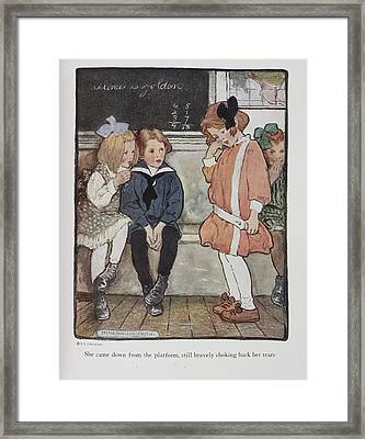 Everyday Fairy Book Framed Print by British Library