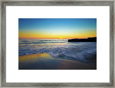 Framed Print featuring the photograph Expanse 3 by Ryan Weddle