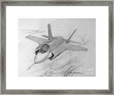 F-35 Joint Strike Fighter Framed Print