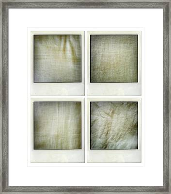 Fabrics Framed Print by Les Cunliffe
