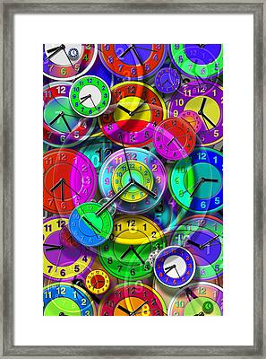 Faces Of Time 1 Framed Print